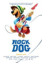 Plakat filmu Rock Dog. Pies ma głos!