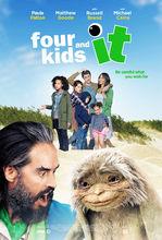 Plakat filmu Czworo dzieci i coś