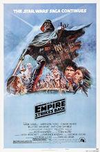 Plakat filmu Gwiezdne wojny: część V - Imperium kontratakuje