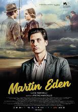 Movie poster Martin Eden