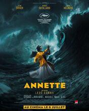 Movie poster Annette